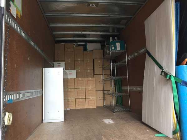 トラックにどれくらい積載できる?