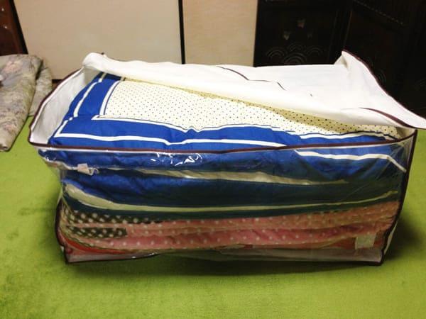 布団袋の使い方