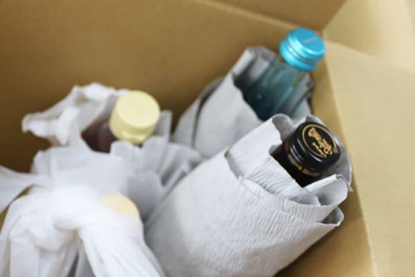 ワインの梱包方法